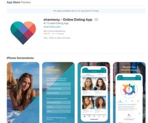 eharmony rating by apple