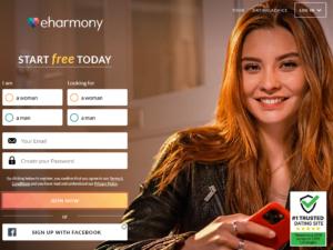 eharmony signup