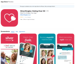 silversingles rating by app store