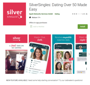 silversingles rating by google play